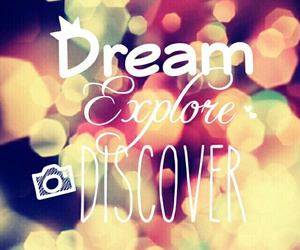 discover, Dream, and perfect image