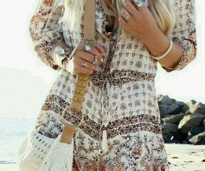 fashion, boho, and summer image
