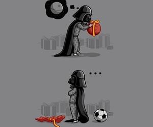 star wars, darth vader, and funny image
