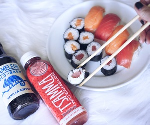 grunge, sushi, and alternative image