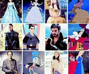 belle, cinderella, and mulan image