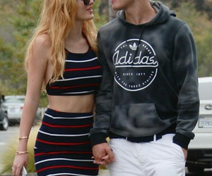 couple and bella thorne image