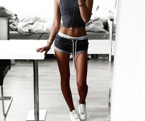 body, fitness, and fit image