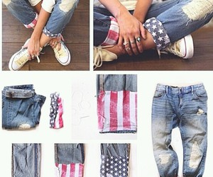 diy, jeans, and pants image