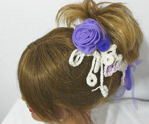 etsy, flower headband, and hair accessories image
