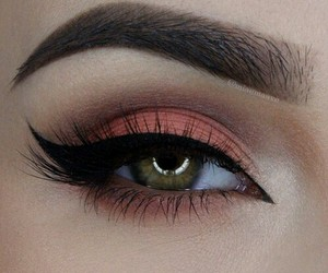 eyes, makeup, and look image