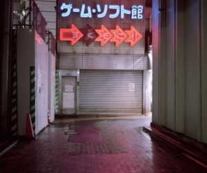japan, grunge, and neon image