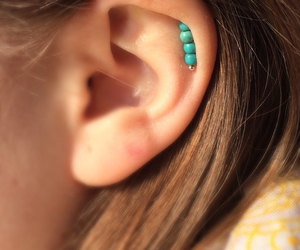 bohemian, ear cuffs, and etsy image
