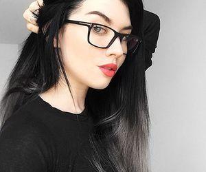alternative, dyed hair, and grey hair image