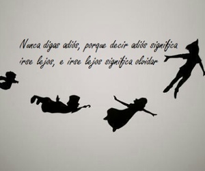 peter pan, bye, and never image