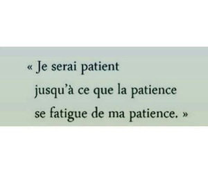 patience and french image