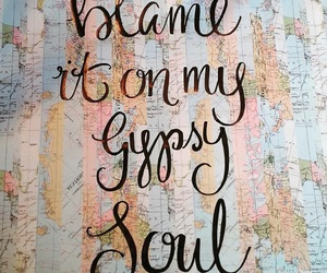 gypsy, quote, and travel image