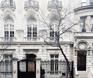 white, house, and city image