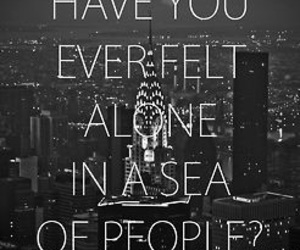 alone, quote, and people image