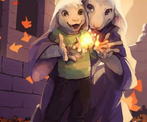 art, ruins, and undertale image