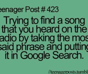 teenager post, music, and song image