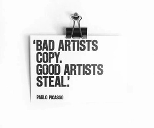 artist, quote, and art image