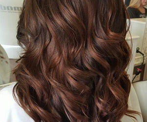 brown, copper, and curls image