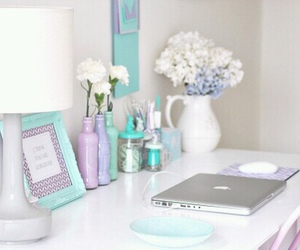 decor, home, and lilac image