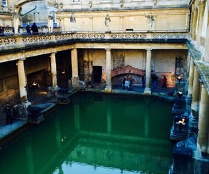 bath, antic, and england image