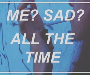 sad and time image