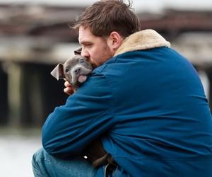 tom hardy and dog image
