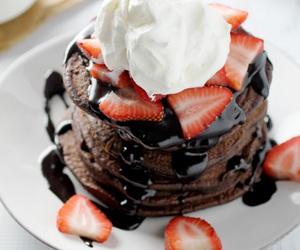 food, dessert, and chocolate image