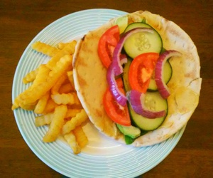 avocado, French Fries, and healthy image