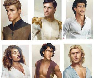 disney and princes image