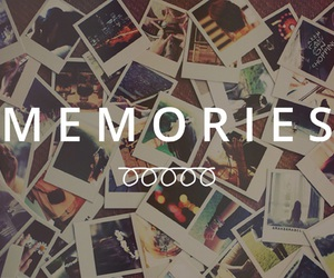 quote, memories, and pictures image