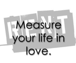 life, love, and measure image