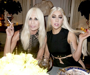 Lady gaga, donatella, and gaga image