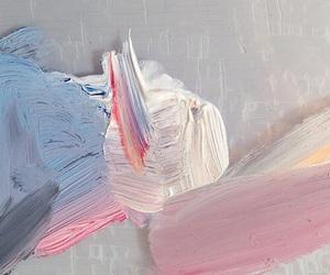 pink, art, and pastel image