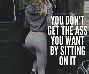 booty, fitness, and squats image