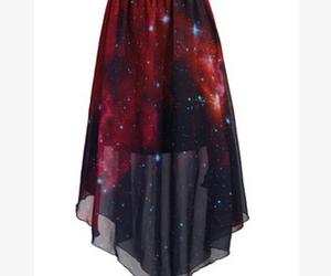chic, dress, and galaxy image