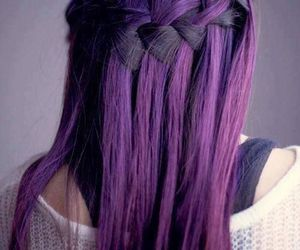 long, nice, and violet image