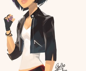 black, casual, and disney image
