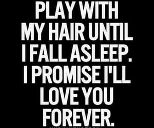 love, hair, and forever image