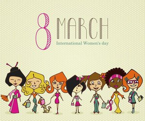 woman, women's day, and 8 march image