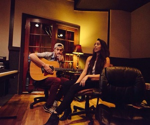 couple, sierra deaton, and music image
