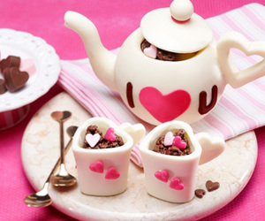 chocolate, pink, and cute image