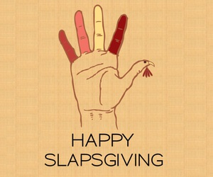 himym and slapsgiving image