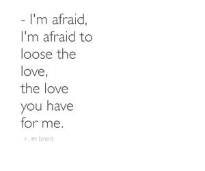 i'm afraid image