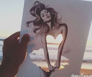 beautiful, draw, and colors image