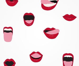 background, lips, and red image