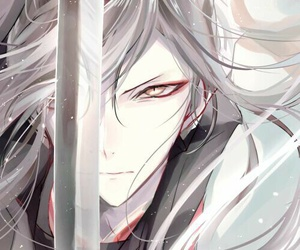 anime, touken ranbu, and boy image