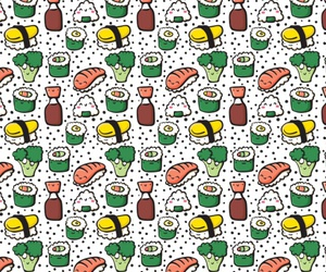 food, pattern, and rice image