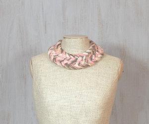 etsy, fiber necklace, and impressive image