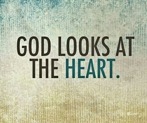 god, heart, and love image