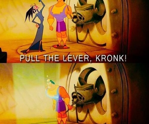 disney, kronk, and funny image